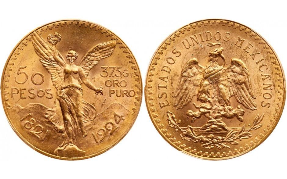You are currently viewing L'emblématique pièce de 50 Pesos Mexique