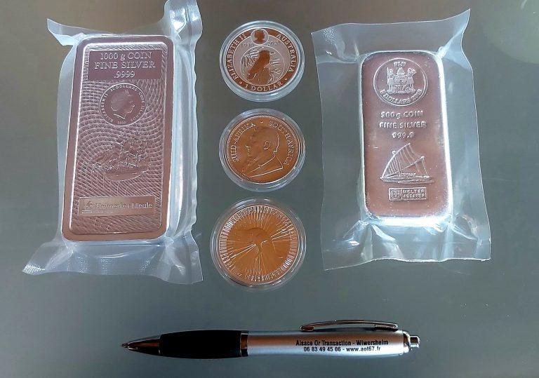 Read more about the article Important potentiel haussier pour l'argent métal!