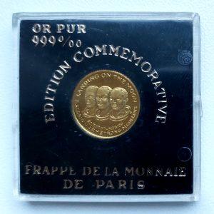 Pièce commémorative en or pur