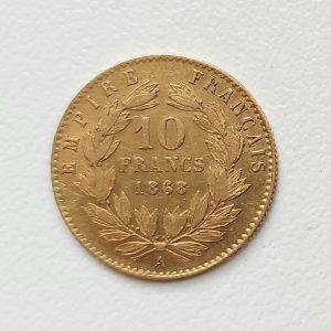 10 Francs Or