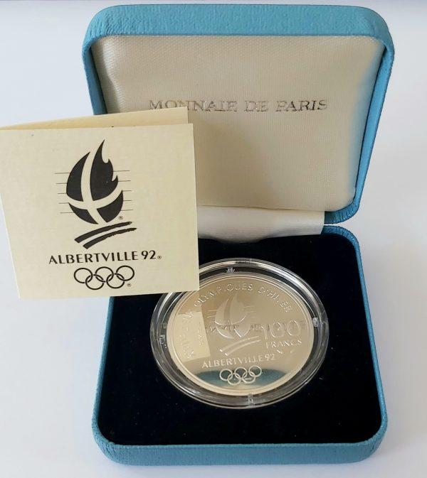 100 FRANCS jeux olympiques