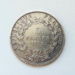 5 Francs Napoléon Argent