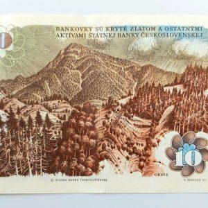 Billet Tchécoslovaquie