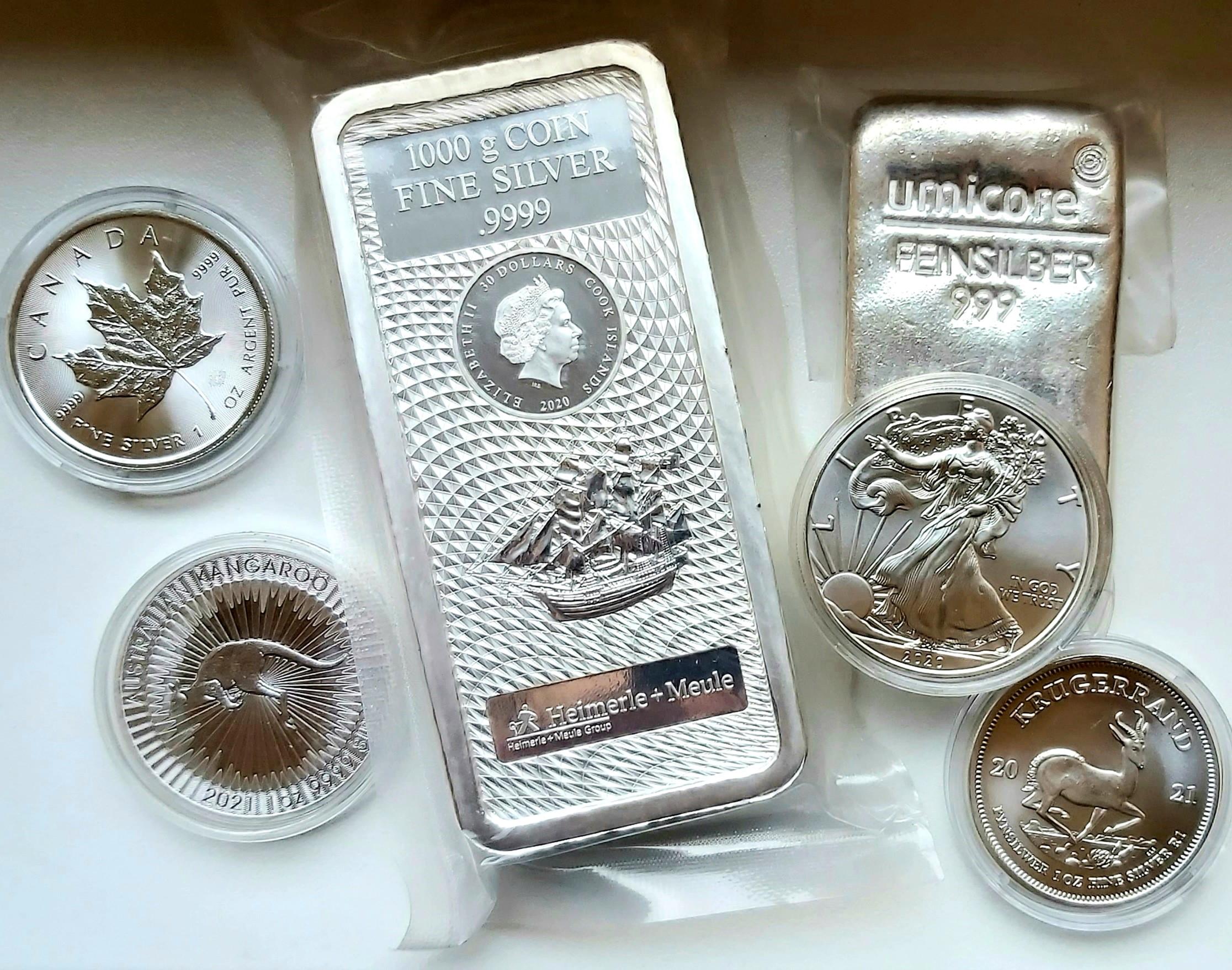 You are currently viewing L'investissement dans l'argent métal
