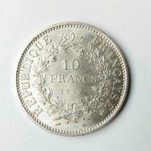10 Francs HERCULE Accent sur le E
